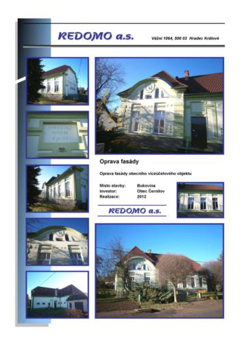 FL-(B-05) - Bukovina - OU Cernilov - Oprava fasady cp, 55 - 02