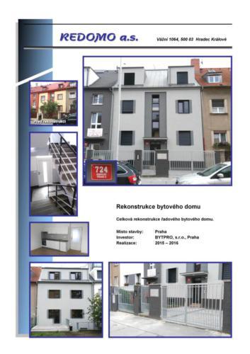 FL-(A-01) - Praha - Bytpro - Reko BD Kobylisy cp, 724